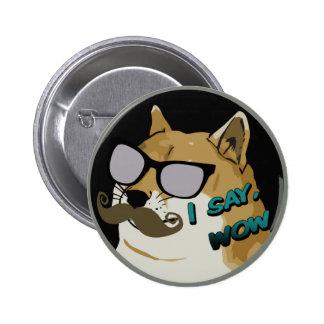 DIGO wow Dogecoin Pin Redondo 5 Cm