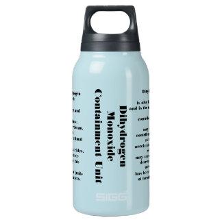 Dihydrogen monoxide thermos bottle