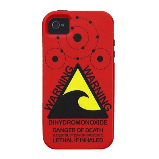 Dihydromonoxide Iphone 4 iPhone 4 Fundas