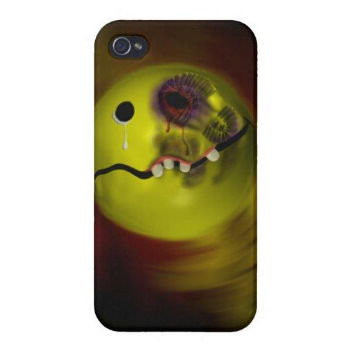 ¡Dije el trapo que sonrisa de su cara! iPhone 4 Cobertura