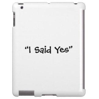 Dije sí funda para iPad