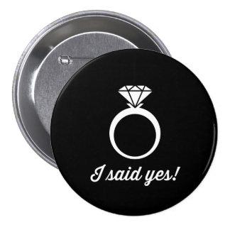 ¡Dije sí! Pins