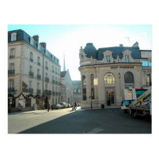 Dijon, Borgoña, Francia, centro de ciudad de Dion Postal