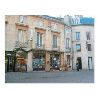 Dijon, Borgoña, Francia, tienda de vino Tarjetas Postales