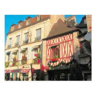 Dijon Borgoña Francia varios estilos Postal