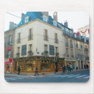 Dijon, Burgundy, France Mustard shop Mousepads