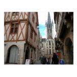 Dijon, calles estrechas postales