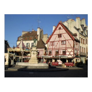 Dijon, Carouselle and coffee Post Cards