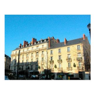 Dijon casas de ciudad postales