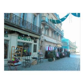 Dijon, cerca del mercado cubierto tarjetas postales
