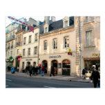 Dijon, edificio medieval usado para los alimentos  postal