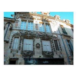 Dijon, fasçade adornado postal