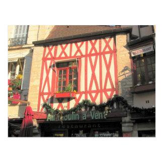 Dijon,  Half timbered shop Postcard
