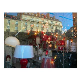 Dijon, lámparas y reflexiones postales