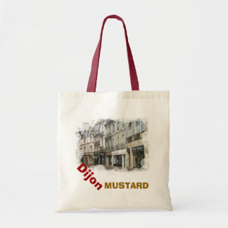 Dijon Mustard 8 Budget Tote Bag