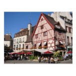 Dijon, tiempo del café tarjetas postales