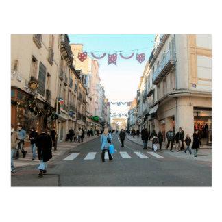 Dijon, vieja área de compras de la ciudad 1 tarjetas postales