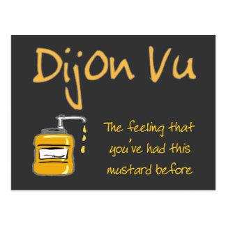 Dijon Vu Post Card