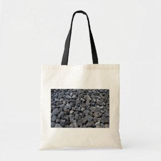 Dike stones on the coast of Los Cristianos Teneri Bag