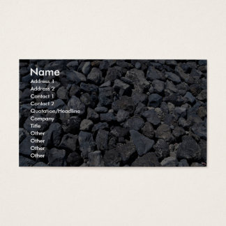 Dike stones on the coast of Los Cristianos, Teneri Business Card