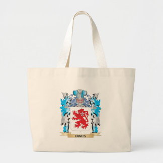 Dikes Coat of Arms - Family Crest Canvas Bag