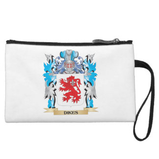 Dikes Coat of Arms - Family Crest Wristlet