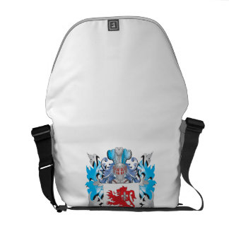 Dikes Coat of Arms - Family Crest Messenger Bags