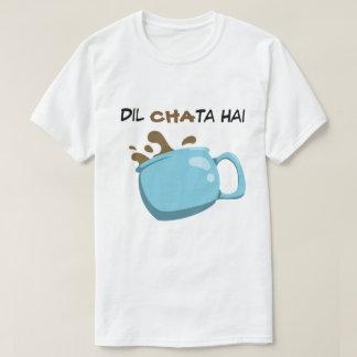 """Dil Chata Hai"" T-Shirt"