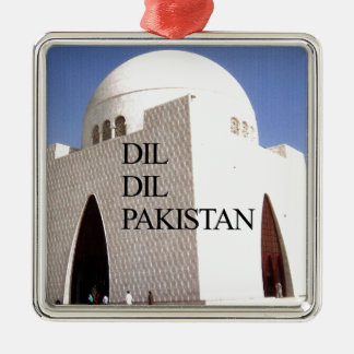 Dil Dil Pakistan Hakuna Matata Metal Ornament