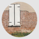 Dilapidated Classic Round Sticker
