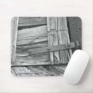 Dilapidated Corral Gate mousepad