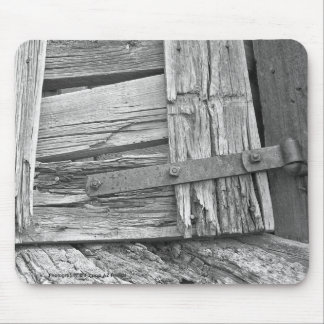 Dilapidated Corral Gate Photograph Mouse Pad