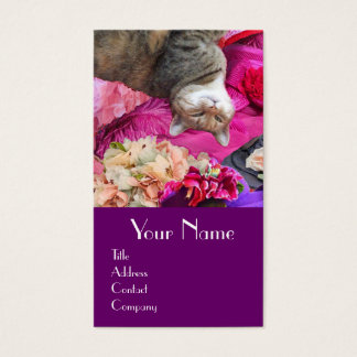 Dilemma of Princess Tatus Cat / Pet Beauty Salon Business Card