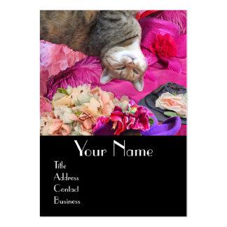 Dilemma of Princess Tatus Cat / Pet Beauty Salon Large Business Card