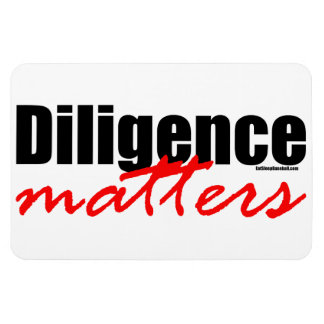 Diligence Matters Flexible Magnets