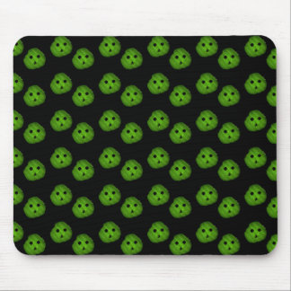 Dill Chip, Mr.Pickle Face Pattern Mouse Pad