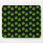 Dill Chip, Mr.Pickle Face Pattern Mouse Pads