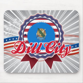 Dill City, OK Mouse Pad