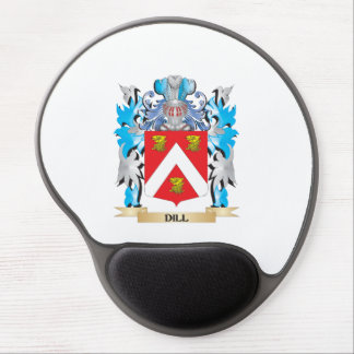 Dill Coat of Arms - Family Crest Gel Mouse Pad