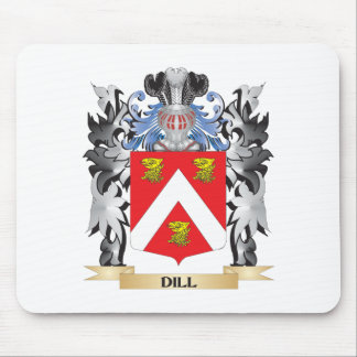 Dill Coat of Arms - Family Crest Mouse Pad