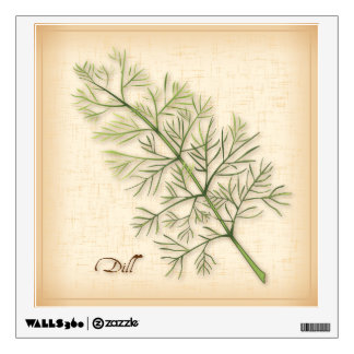 Dill Herb, Dill Weed Wall Sticker