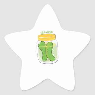 Dill-icious Star Stickers