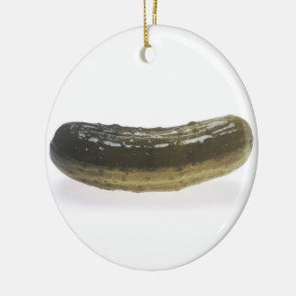 Dill Pickle Ceramic Ornament