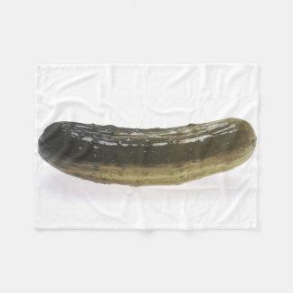 Dill Pickle Fleece Blanket