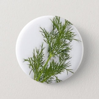 Dill Weed Pinback Button