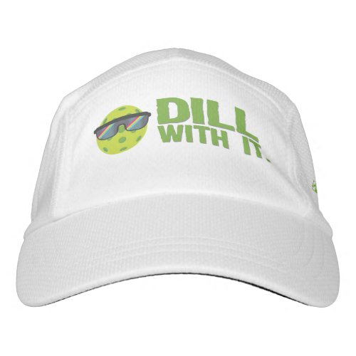 Dill With It Pickleball Hat