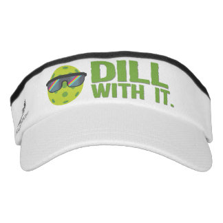 """""""Dill With It"""" Pickleball Visor"""