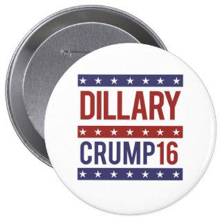 Dillary Crump 16 - -  Pinback Button