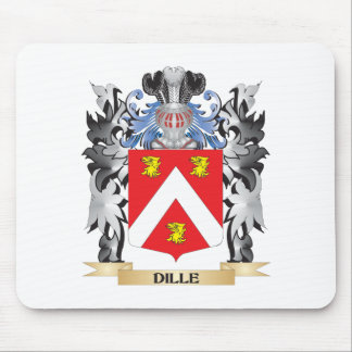Dille Coat of Arms - Family Crest Mouse Pad