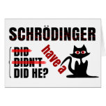 Dillema de Schrodinger Felicitaciones